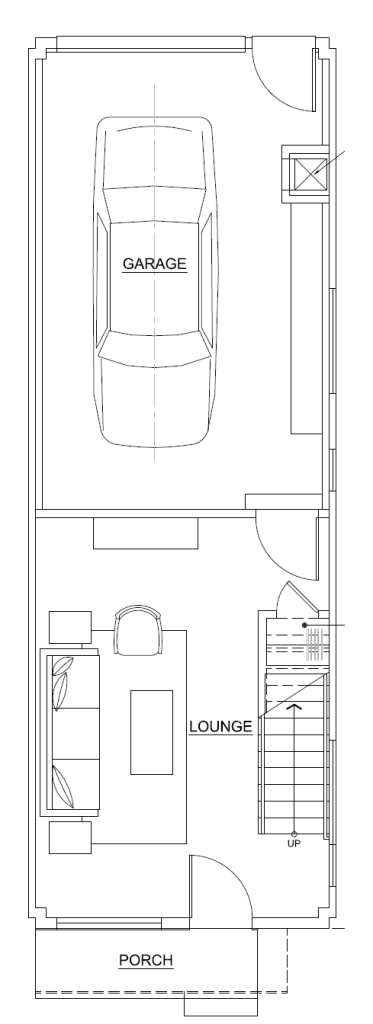 A2 First Floor Proposed Floor Plan