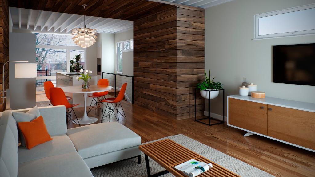A2 RVA Living Space Rendering